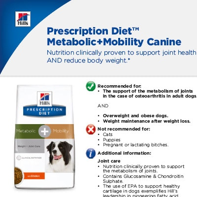 Prescription Diet™ Metabolic+Mobility Canine